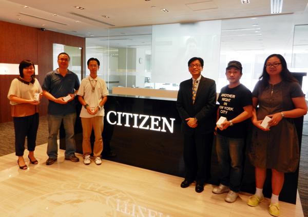 CITIZEN在9月29日至10月1日假The ONE商場舉辦的CITIZEN腕錶展銷會已完滿結束