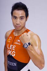 香港三項鐵人名將-李致和出任 Citizen 運動錶系列的形象大使